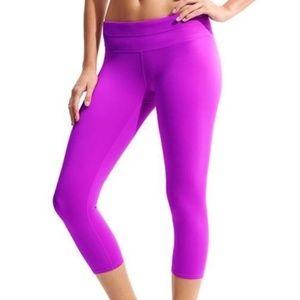 ATHLETA Sonar Capri Crops Jazzy Purple {GG15}